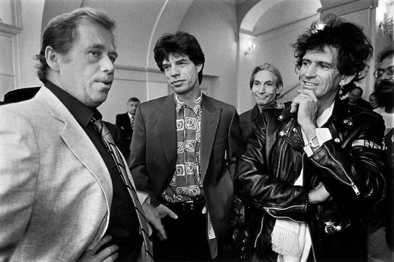 Vaclav Havel i The Rolling Stones