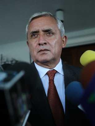 Otto Pérez Molina Foto: PrensaLibre.com