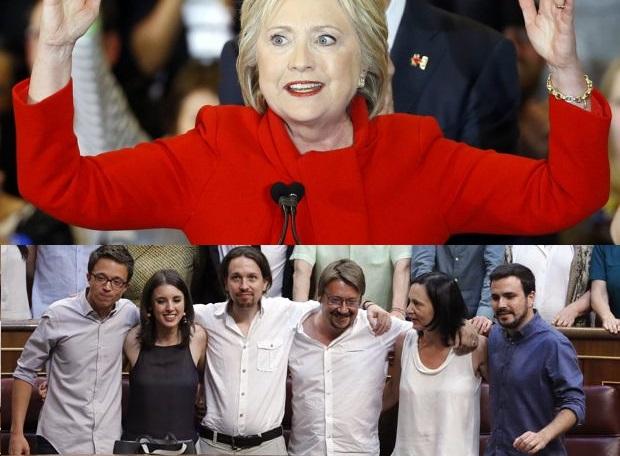 PodemosHillary