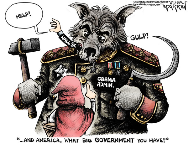 boot of big government