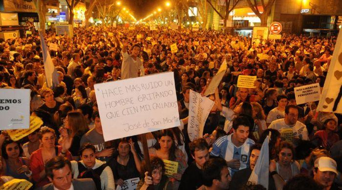 cacerolazo Buenos Aires 2012